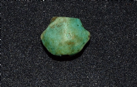 "A pleasant Ancient Egyptian green glazed Faience ""Heart"" amulet. SOLD"